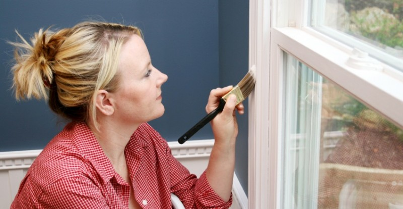 Problems Painting Window Frames