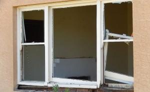 Broken Window Frame